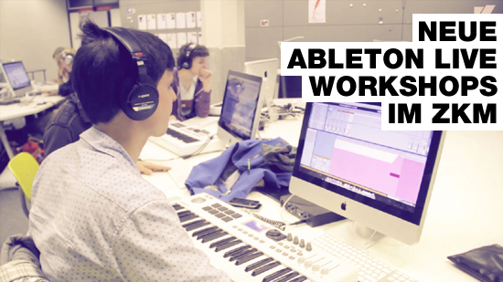Ableton Live Workshop im ZKM Karlsruhe