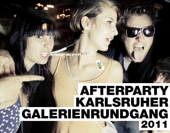 Afterparty Galerienrundgang 2011
