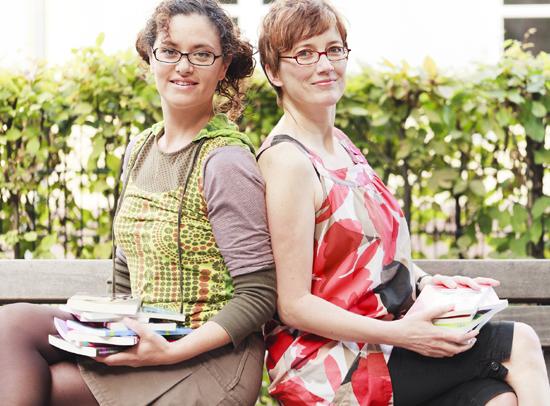 Christine Kern und Sonia Lauinger
