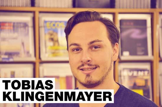 Tobias Klingenmayer von der Karlshochschule