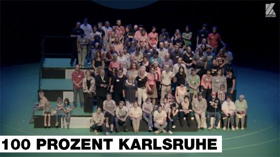 100 Prozent Karlsruhe