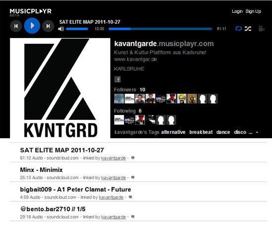 Kavantgarde Musicplayr